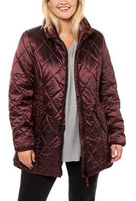 Ulla Popken Women's Reflective Mister Tee Windbreaker Jacket,24 (Size: 50+)