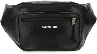Balenciaga Logo Zipped Belt Bag