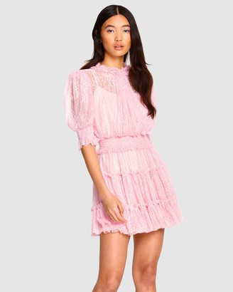 Alice McCall Women's Pink Mini Dresses - ILY Mini Dress - Size 6 at The Iconic