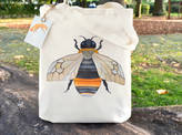 Bumble Bee Ceridwen Hazelchild Design Tote Bag