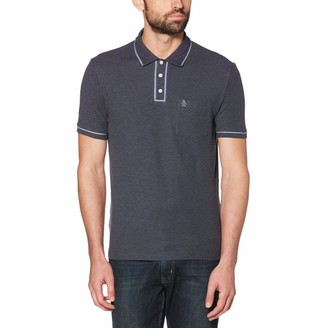 Original Penguin The Chambray Piping Earl Polo