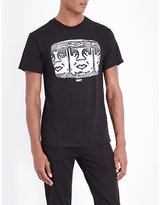 Obey Channel Zero Cotton T-shirt