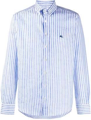 Etro Striped Poplin Shirt