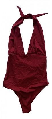 MC2 Saint Barth Red Cotton - elasthane Swimwear for Women