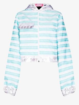 Mariah Esa Hooded Zip-Up Jacket