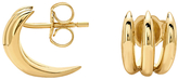 Missoma 18ct Gold Vermeil Claw Stud Earrings, Gold