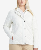 Lauren Ralph Lauren Plus Size Slim-Fit Barn Jacket