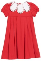 Luli & Me Toddler Girl's Daisy Collar Corduroy Dress