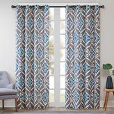 Madison Park Mika Ikat Curtain