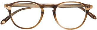 Garrett Leight Hampton Demi Blonde glasses