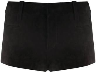 Saint Laurent Low-Rise Short-Shorts