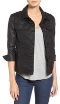 Pam & Gela Women's Coated Sateen Jacket