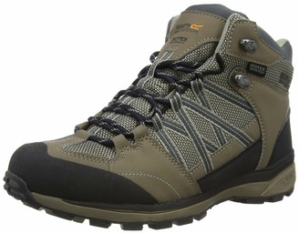 Regatta Ldy Samaris Md Ii Womens High Rise Hiking Boots Grey (Briar/Dkceri) 5 (38 EU)