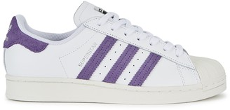 adidas Superstar White Leather Sneakers