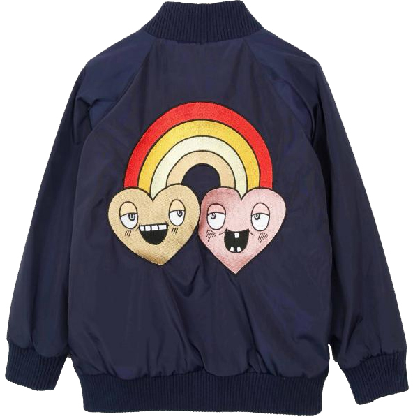 Mini Rodini Rainbow Embroidered Jacket