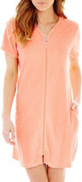 JCPenney MIXIT Mixit Textured Zip Robe
