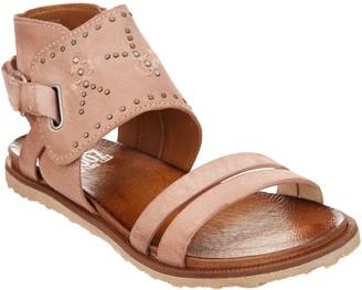 Miz Mooz Leather Sandals w/ Stud Details - Tibby