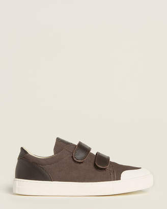 Naturino Toddler/Kids Boys) Brown Canvas Low-Top Sneakers