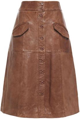 Walter Baker Leather Skirt