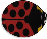 Fun Rugs 2-Foot 11-Inch x 3-Foot 3-Inch Red Lady Bug Rug