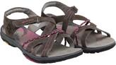 Karrimor Womens Trinidad 3 Suede Strap Sandals Dark Grey/Cochineal