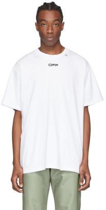 Off-White White Caravaggio Arrows Over T-Shirt