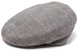 Isabel Marant Gabor Tweed Flat Cap - Womens - Grey