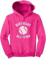 TeeStars - Baseball All Star Birthday Boy / Girl Gift Toddler Hoodie