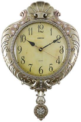 Orient Three Star Shell Shaped Wall Clock