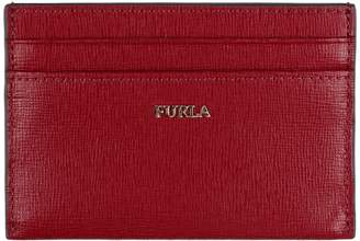 Furla Babylon Leather Card Holder