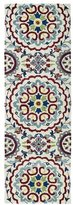 Leon Hand-Tufted de Suzani Ivory Rug (2'6 x 8'0)