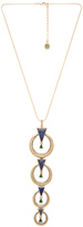House Of Harlow Hymn To Selene Drop Necklace