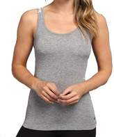 Nike Gray Women's Size XL Tank Cami Heathered Scoop-Neck Top