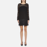 Diane von Furstenberg Women's Lavana Dress Black