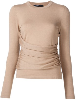 Derek Lam Sasha Long Sleeve Top