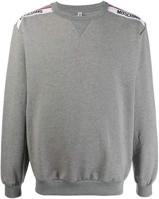 Moschino logo tape sweatshirt