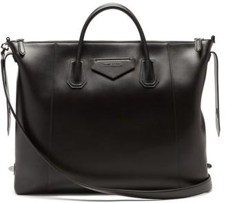 Givenchy Antigona Logo-applique Leather Holdall - Black