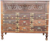 One Kings Lane Vintage British Colonial Campaign Spice Dresser