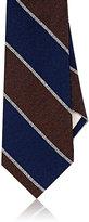 Fairfax Men's Cabana Stripe Silk Jacquard Necktie