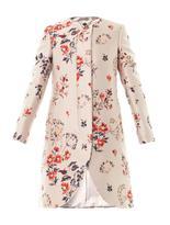 Stella McCartney The Lea wild flower-jacquard coat