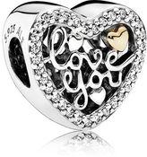 Pandora Love Script Charm
