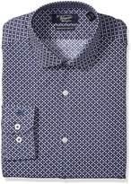 Original Penguin Men's Slim Fit Dress Shirt with Short Spread Collar