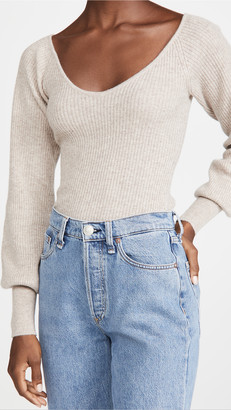 Reformation Hart Cashmere Sweater