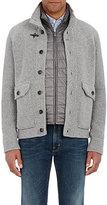 Fay Men's Three-In-One Wool Sweater-DARK GREY