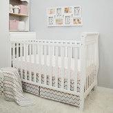 T.L.Care TL Care 3-pc. Polka-Dot & Chevron Crib Bedding Set