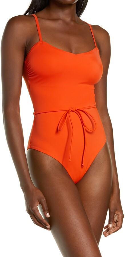 Chelsea28 Easy Retro One-Piece Swimsuit