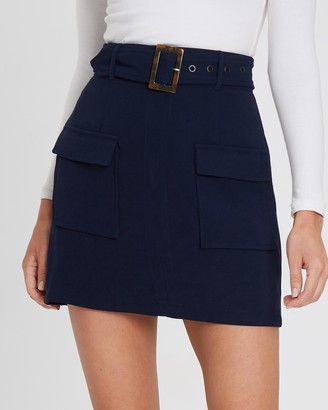 Tussah Yana Mini Skirt