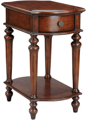 Stein World Norwood Brown Chairside Table