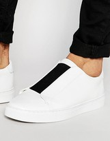Asos Sneakers in White With Chunky Sole