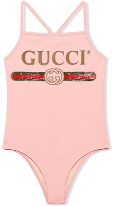 Gucci Kids Costume con logo